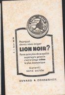 Buvard LION NOIR  (PPP18210) - Wash & Clean