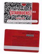 Starbucks Card - USA - Red Jonathan Adler - 6064 Mint Pin - Cartes Cadeaux