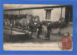 41 LOIR ET CHER - Vendanges En Loir Et Cher, Retour Des Vendanges, Château Colivault (voir Descriptif) - Other Municipalities