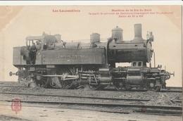 Les LOCOMOTIVES   - Cie Du Nord - Machine Faisant Le Service De Ceinture - Trains