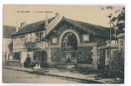 CPA 91 VILLABE LE LAVOIR COMMUNAL - France