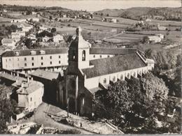 FIGEAC - CPSM : Notre Dame Du Puy Et Le Collège Champollion - Figeac