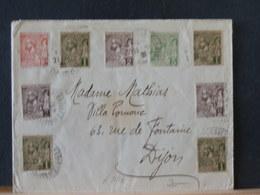 A8817  LETTRE   MONACO   POUR DIJON  1924  25C - Monaco