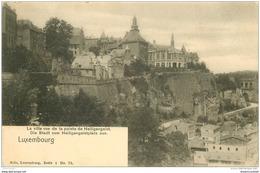 LUXEMBOURG. Pointe De Heiligengeist - Luxemburg - Town