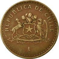 Monnaie, Chile, 100 Pesos, 1993, Santiago, TTB, Aluminum-Bronze, KM:226.2 - Chili