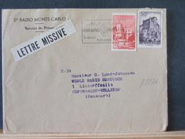 A8826 LETTRE    MONACO   POUR DANMARK - Monaco
