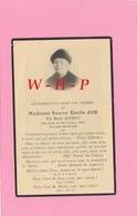 AVIS DE DECES - MONTIGNY LES METZ   - Mme Veuve Emile JOB Née Marie SCHMITT  Décédée LE 23 Juillet 1935 - Obituary Notices