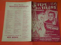 La Fête Des Fleurs (Tino Rossi) -(Paroles Jacques Plante) (Musique Edmundo P. Zaldivar) (Partition)1943 - Song Books