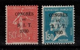 YV 264 & 265 N** Congres Du BIT - Semeuse Et Pasteur Cote 55 Euros - France
