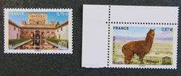 FRANCE - 2010 - YT SERVICE 148 / 149 ** - UNESCO - ALPAGA - ALHAMBRA DE GRENADE - Nuovi