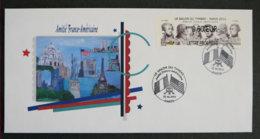 FRANCE - 2012 - SALON DU TIMBRE 2012 - AMITIE FRANCO AMERICAINE - Lettres & Documents