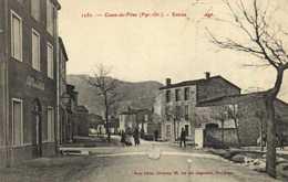 Cases De Pène ( Pyr Or ) Entrée Du Village Café De L'Agly RV - Autres Communes
