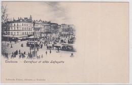 CP - TOULOUSE - Carrefour Et Allée Lafayette - Toulouse