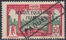 Gabon 1924-1933 - Marque Paquebot Sur N° 103 (YT) N° 115 (AM). - Gabon (1886-1936)
