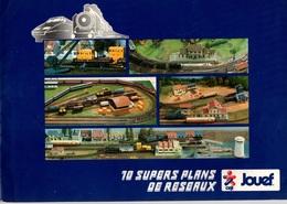 Catalogue JOUEF Avec 10 Supers Plans De Réseaux De 1984 - Trains électriques