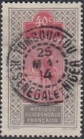Haut-Sénégal Et Niger - Tombouctou Sur N° 28 (YT) N° 27 (AM). Oblitération De 1914. - Haut-Sénégal Et Niger (1904-1921)