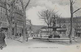 CLERMONT FERRAND  :  Place Delille Anmée - Clermont Ferrand