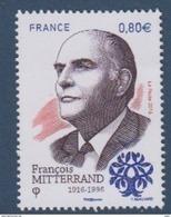 2016-N°5089** FRANCE-F.MITTERAND - France