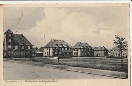 ALLEMAGNE - EINSWARDEN I. O. - Markplatz Und Spitzenhaus - Allemagne