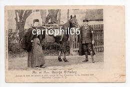 - CPA MONRÉAL (Canada) - Mr. Et Mme George O'Malley Faisant Le Tour Du Monde à Pied, Octobre 1897 - - Montreal