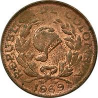 Monnaie, Colombie, 5 Centavos, 1969, TTB, Copper Clad Steel, KM:206a - Colombie