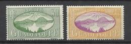 Guadeloupe  Poste N°107  Et 108  Baie Des Saintes  Neufs * * Et Neufs *  B/TB  Soldé à  Moins De 20 % ! ! ! - Guadeloupe (1884-1947)