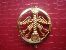 COIFFURE - Insigne De Beret . Service Des Poudres - Army