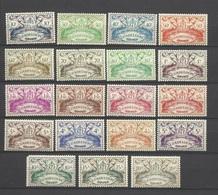 Guadeloupe  Poste N°178  à  196    Neufs * * Et Neufs *  B/TB  Soldé à  Moins De 20 %  194 Non Compté ! ! ! - Guadeloupe (1884-1947)