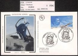 D - [405535]B/TB//-France  - (85) Challans, Jacqueline Auriol, Célébrité, Avions - Avions
