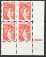 N° 1968 - X X - Daté 12/10/79 - Dated Corners