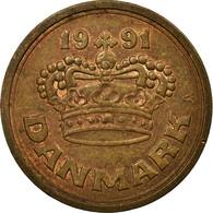 Monnaie, Danemark, Margrethe II, 50 Öre, 1991, Brondby, TTB, Bronze, KM:866.2 - Dänemark