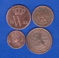Pays  Bas  4  Pieces - 1815-1840 : Willem I