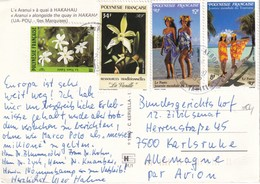 POLYNESIE FRANCAISE 1992 CARTE POSTALE - Lettres & Documents