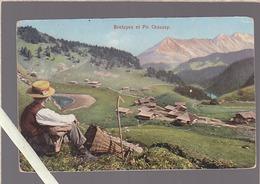 Suisse / Bretayes Et Pic Chaussy / Cachet Restaurant De Bretaye Chamossair - Autres