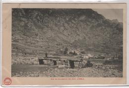 CPA 09 : ORLU - Vue Du Village Et Du Pont - Précurseur DND Avant 1904 - Ed. Gadrat à Foix - Frankreich