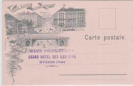 CP - GENEVE - HÔTEL SUISSE SCHWEIZEROF - GE Genève