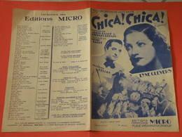 Chica Chica (Lyne Clevers) -(Paroles L. Gasté & G. Bérard) (Musique Louis Gasté) Partition - Song Books