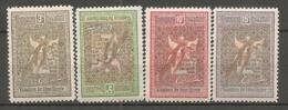 ROU -   Yv. N°  168 à 171   (o)  3b à 15b  Bienfaisance Cote  24 Euro  BE   2 Scans - 1881-1918: Carol I.