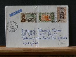 A8866    LETTRE POUR LE VENEZUELA  PUB FHARMA   1964 - Bénin – Dahomey (1960-...)