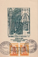 ROUMANIE 1957 CARTE SOUVENIR - 1948-.... Republics