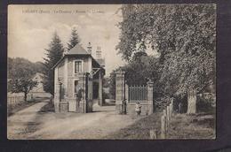 CPA 27 - LIEUREY - LE COUDRAY - Entrée Du Château - TB PLAN Avec Petite ANIMATION - Altri Comuni