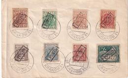 POLOGNE 1919 ENVELOPPE SOUVENIR DE KRAKOW - Covers & Documents