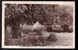 45, Chatillon Coligny, La Gare, La Salle D'attente - Chatillon Coligny