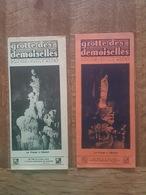 Grotte Des Demoiselles - Pub Caves à Fromages De Roquefort, Pippermint Get Revel Palavas Les Flots Saint Bauzille Putois - Dépliants Touristiques