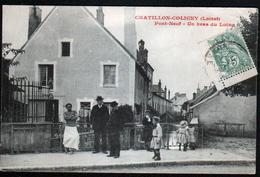 45, Chatillon Coligny, Pont Neuf, Un Bras Du Loing - Chatillon Coligny