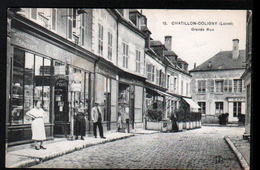 45, Chatillon Coligny, Grande Rue - Chatillon Coligny