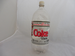 COCA COLA® DIET BOUTEILLE PLASTIQUE VIDE 2007 CANADA 2L - Flessen
