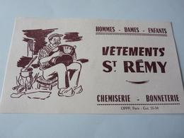 Buvard            Vetements  St Rémy - Textile & Clothing