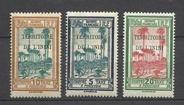 Guyane Territoire De L'Inini Taxe   N°   1 à  3  Neufs *  * Et Neufs *  B/TB  Soldé à  Moins De 20 %  ! ! ! - Unused Stamps