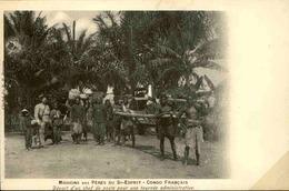 CONGO - Carte Postale - Départ D'un Chef De Poste Pour Une Tournée Administrative - L 29282 - French Congo - Other